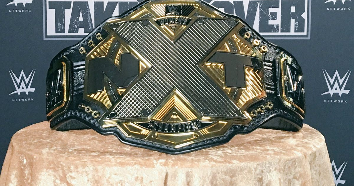 Wwe Unveils Three New Nxt Championship Titles At Takeover