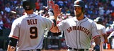 Madison Bumgarner goes deep twice in Giants opener, is MLB home run leader