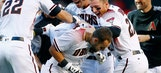 D-backs stun Giants with Opening Day walk-off