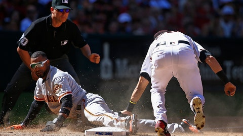 Replay overturns call in D-backs favor