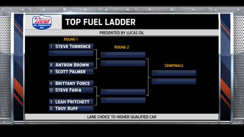 Top Fuel - left side