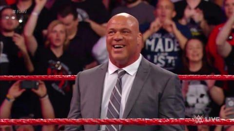 Kurt Angle is the new Raw GM