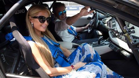 Safety Car ride