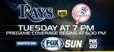 New York Yankees at Tampa Bay Rays game preview