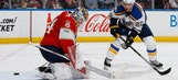 Panthers trade blows with Blues before ending up with home loss