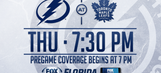 Tampa Bay Lightning at Toronto Maple Leafs game preview