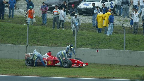 Bad luck Barrichello