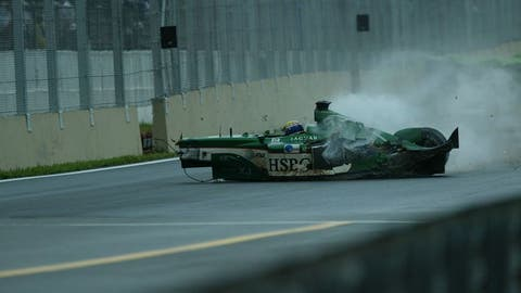 Mark Webber's crash
