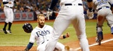 Rays top Blue Jays in extra innings on Brad Miller's walk-off walk
