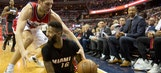 Heat stand tall late, stay alive in playoff race with win over Wizards