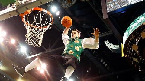 Boston Celtics: Lucky the Leprechaun