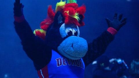 Detroit Pistons: Hooper the Horse