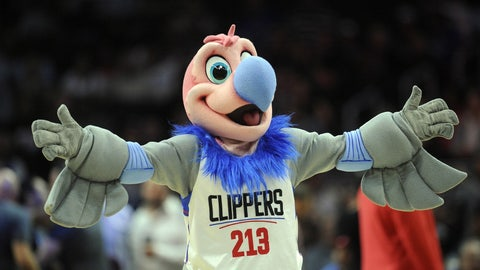 Los Angeles Clippers: Chuck the Condor
