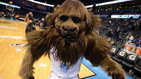 Oklahoma City Thunder: Rumble the Bison