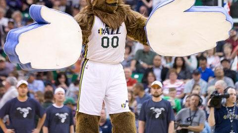 Utah Jazz: Jazz Bear