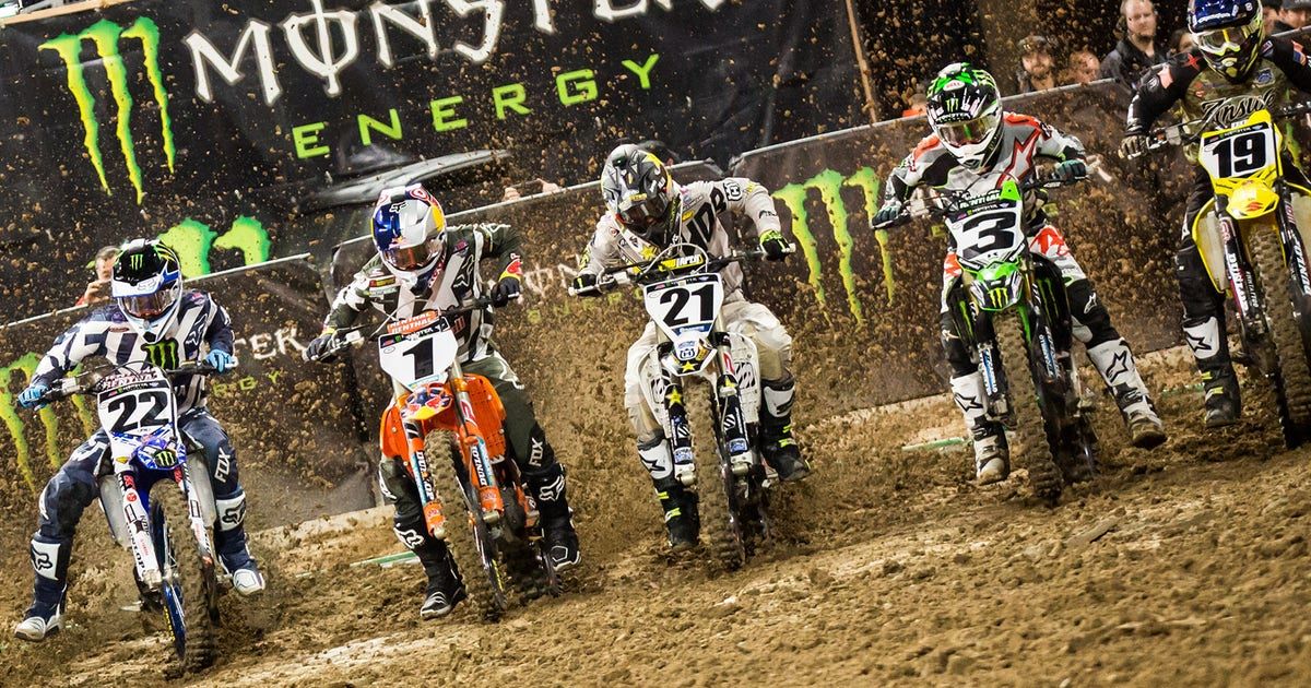 Check Out The 2018 Monster Energy Supercross Schedule
