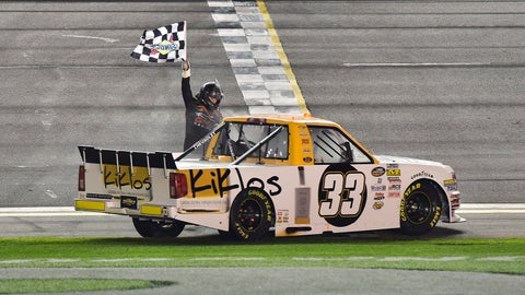 8. Kaz Grala - NASCAR Camping World Truck Series at Daytona