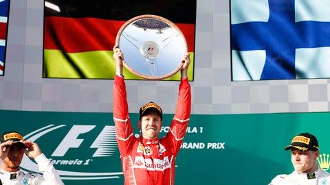 3. Sebastian Vettel - Australian Grand Prix