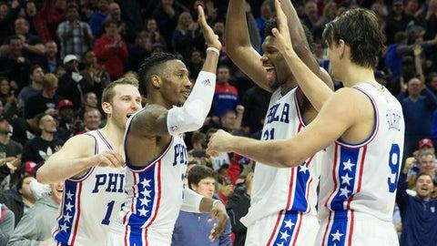 Rookie of the Year: Joel Embiid, Philadelphia 76ers