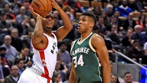 Toronto Raptors (3) vs. Milwaukee Bucks (6)