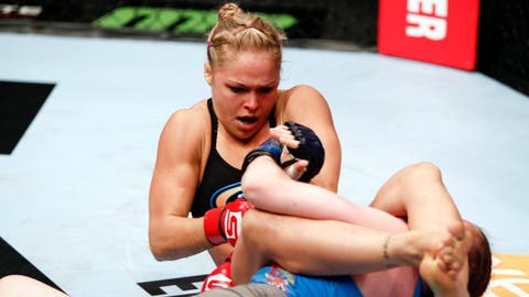 Ronda Rousey was still fighting for Strikeforce