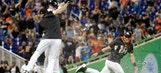 J.T. Realmuto's RBI double makes Marlins a walk-off winner over Mets