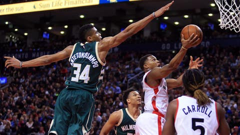 Toronto Raptors vs. Milwaukee Bucks