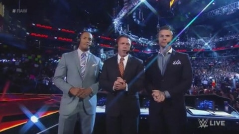 On how Michael Cole made Graves the announcer he is: