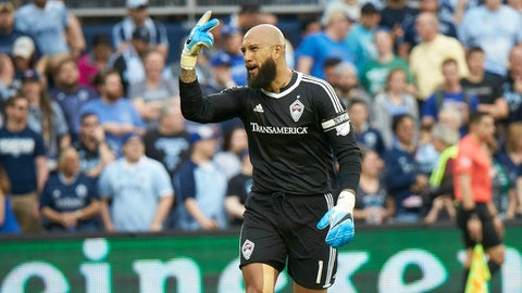 Colorado Rapids - Tim Howard: $2.475 million