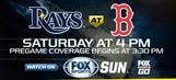 Tampa Bay Ray at Boston Red Sox game preview