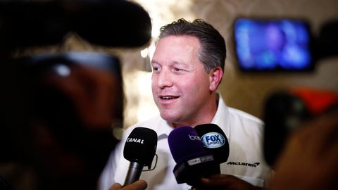 Interview with Zak Brown