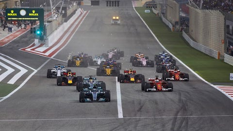 The currents state of F1