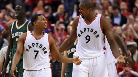 The Raptors' hopes hinge on Serge Ibaka's health