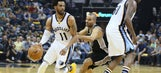 Spurs drop Game 3 to Grizzlies 105-94