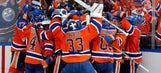 Oilers' OT goal comes at perfect time for Edmonton TV reporter
