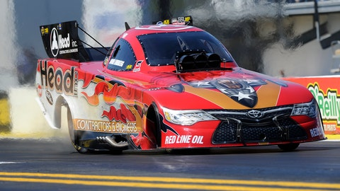 Jonnie Lindberg has finished runner-up in his first two career NHRA Funny Car starts. (Photo: NHRA)