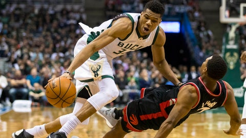 As good as Giannis Antetokounmpo is, he's missing one key facet