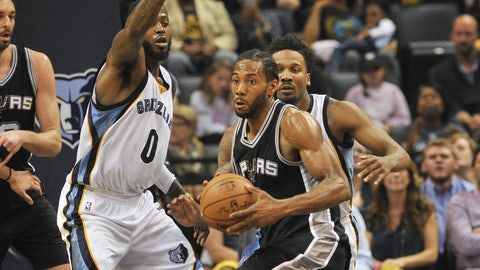 Kawhi Leonard's killer instinct is unquestionable, and that's a problem for the Spurs