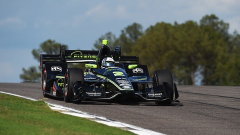 Josef Newgarden has taken his first win for Team Penske. (Photo: Rainier Ehrhardt/LAT Images)