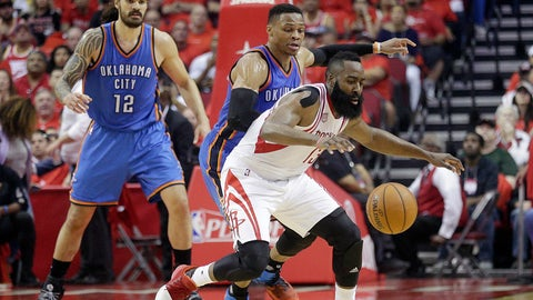 The Rockets are good, but they're not title contenders