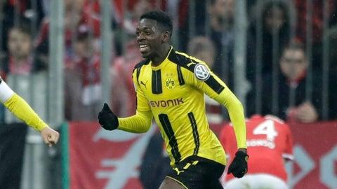 Midfield: Ousmane Dembele (Borussia Dortmund)