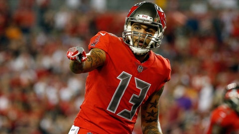 2014 -- WR Mike Evans (7th overall out of Texas A&M)