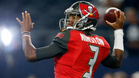 2015 -- QB Jameis Winston (1st overall out of Florida State)