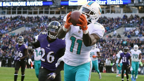 2015 -- WR DeVante Parker (14th overall out of Louisville)