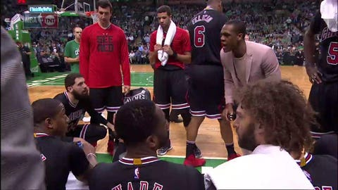 Rajon Rondo is the real coach of the Chicago Bulls