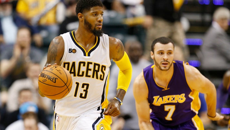 Pacers' Simon denies report about possibly suing Lakers