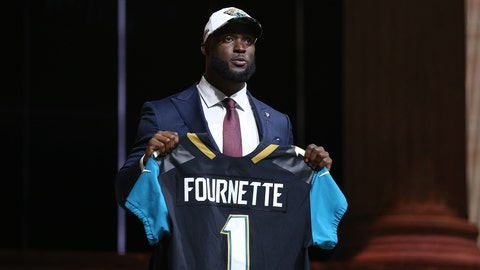 April 27: Jaguars draft Fournette