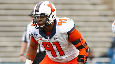 Dawuane Smoot -- DE, Illinois (3rd round, 68th overall)