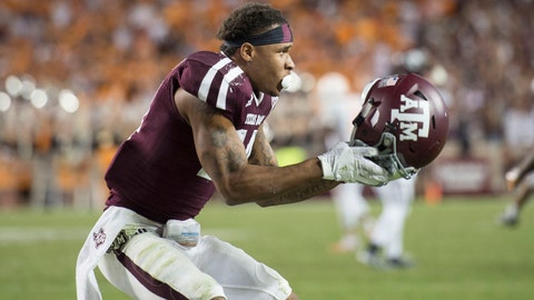 Justin Evans -- DB, Texas A&M (2nd round, 50th overall)