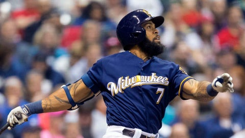 Eric Thames, 1B, Brewers